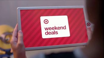 Target Weekend Deals TV Spot, '2017 Holidays: GiftCards' - Thumbnail 1