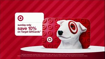 Target Weekend Deals TV Spot, '2017 Holidays: GiftCards' - Thumbnail 7