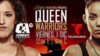 Combate Americas 19 TV Spot, 'Telemundo: Queen Warriors' [Spanish]