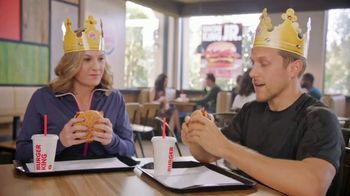 Burger King Bacon King Jr. TV Spot, 'Small Package' - Thumbnail 1