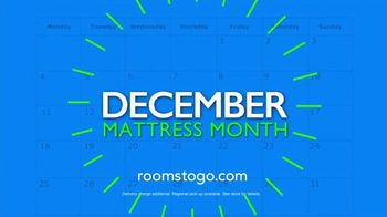 Rooms to Go Mattress Month TV Spot, 'Three Great Brands' - Thumbnail 9