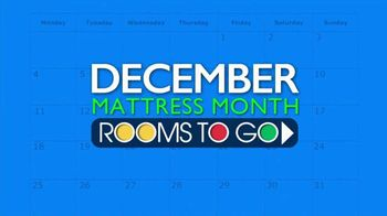 Rooms to Go Mattress Month TV Spot, 'Three Great Brands' - Thumbnail 2