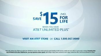 AT&T Wireless Unlimited Plus TV Spot, 'Expectations Met' - Thumbnail 8