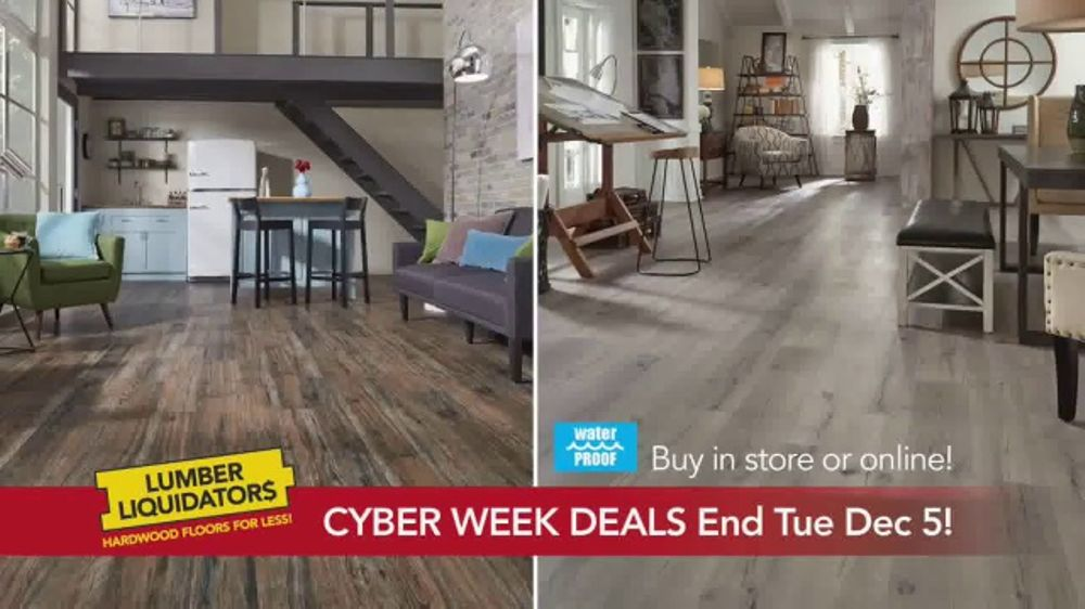 Lumber Liquidators Cyber Week Sale Tv Commercial Get It