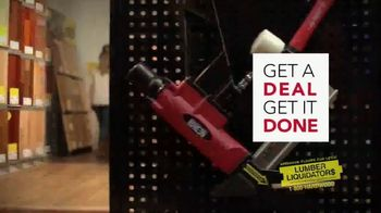 Lumber Liquidators Cyber Week Sale TV Spot, 'Get It Done' - Thumbnail 2