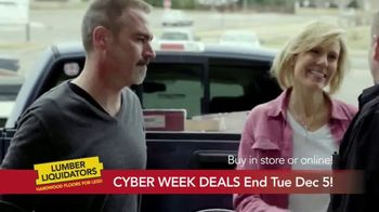 Lumber Liquidators Cyber Week Sale TV Spot, 'Get It Done' - Thumbnail 7