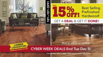Lumber Liquidators Cyber Week Sale TV Spot, 'Get It Done' - Thumbnail 8