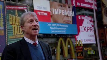 Tom Steyer TV Spot, 'Time Square' - 43 commercial airings