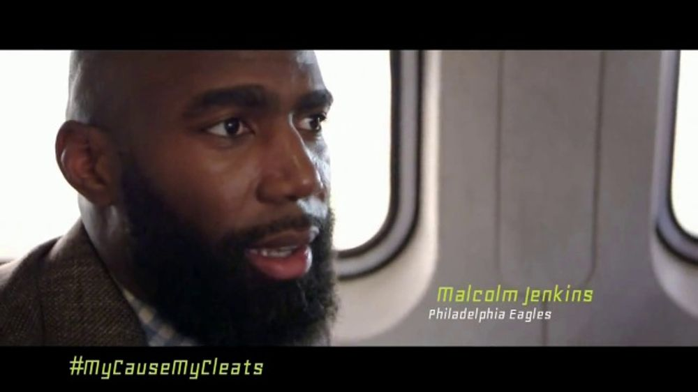 NFL TV Commercial, 'My Cause, My Cleats: Malcolm Jenkins' Featuring Chris Long