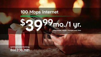 Optimum Internet TV Spot, 'Blitzen Fast'