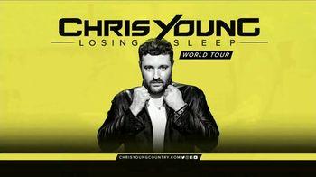 Chris Young: Losing Sleep World Tour TV Spot, 'Tacoma Dome'