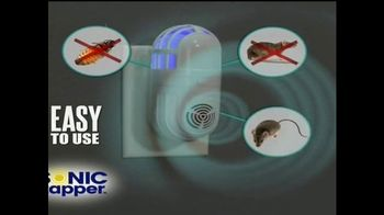 Sonic Zapper TV Spot, 'Eliminate Pests Forever' - 4 commercial airings