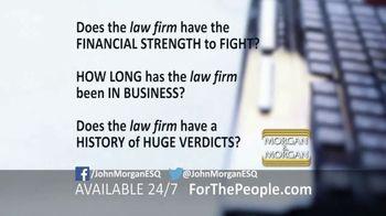 Morgan and Morgan Law Firm TV Spot, 'Do Your Homework' - Thumbnail 3
