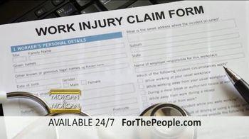 Morgan and Morgan Law Firm TV Spot, 'Permanent Disability Benefits' - Thumbnail 2
