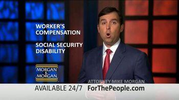 Morgan and Morgan Law Firm TV Spot, 'Permanent Disability Benefits' - Thumbnail 5