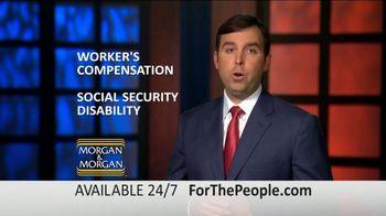 Morgan and Morgan Law Firm TV Spot, 'Permanent Disability Benefits' - Thumbnail 7