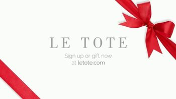 Le Tote TV Spot, 'Front Door Fashion Show' - Thumbnail 10
