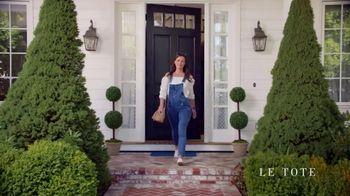 Le Tote TV Spot, 'Front Door Fashion Show'