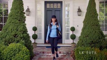 Le Tote TV Spot, 'Front Door Fashion Show' - Thumbnail 5