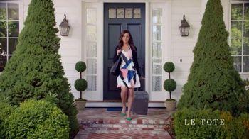 Le Tote TV Spot, 'Front Door Fashion Show' - Thumbnail 8