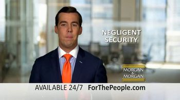 Morgan and Morgan Law Firm TV Spot, 'Unsafe Businesses' - Thumbnail 7