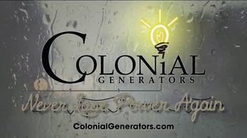 Colonial Generators TV Spot, 'Never Lose Power Again' - Thumbnail 8