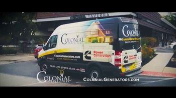 Colonial Generators TV Spot, 'Never Lose Power Again'