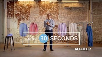 MTailor TV Spot, 'Digital Tailor Technology' - Thumbnail 4