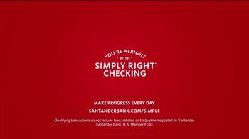 Santander Bank Simply Right Checking TV Spot, 'Marlin' Song by David Ruffin - Thumbnail 8