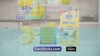 Sani Sticks Lemon Fresh TV Spot, 'Stop Embarrassing Drain Odors'