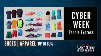 Tennis Express Cyber Week Sale TV Spot, '2017 November' - Thumbnail 2