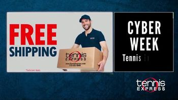 Tennis Express Cyber Week Sale TV Spot, 'November' - Thumbnail 3