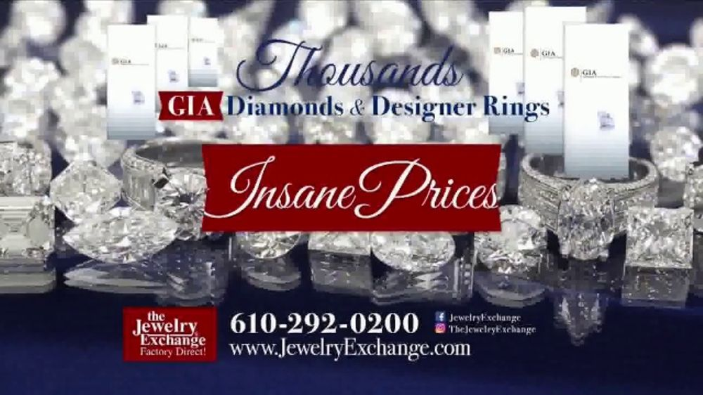 Jewelry Exchange Tv Commercial Gia Certified Diamonds