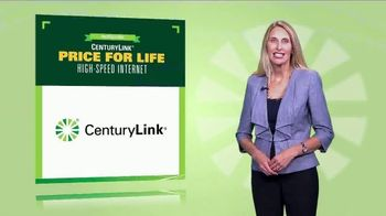 CenturyLink Price for Life High-Speed Internet TV Spot, 'No Surprises' - Thumbnail 1