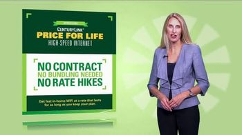 CenturyLink Price for Life High-Speed Internet TV Spot, 'No Surprises' - Thumbnail 2