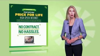 CenturyLink Price for Life High-Speed Internet TV Spot, 'No Surprises' - Thumbnail 3