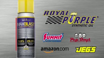 Royal Purple Max-Blast TV Spot, 'Restore Performance and Fuel Economy' - Thumbnail 7