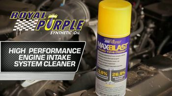 Royal Purple Max-Blast TV Spot, 'Restore Performance and Fuel Economy' - Thumbnail 2