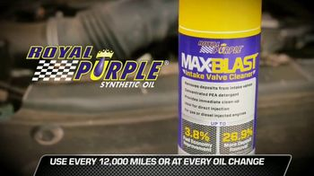 Royal Purple Max-Blast TV Spot, 'Restore Performance and Fuel Economy' - Thumbnail 5