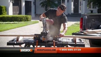 Worx Pegasus TV Spot, 'Super Strong' - Thumbnail 9