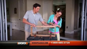 Worx Pegasus TV Spot, 'Super Strong' - Thumbnail 8