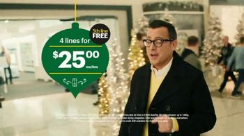 Sprint Unlimited TV Spot, 'Holiday Mall' - Thumbnail 6