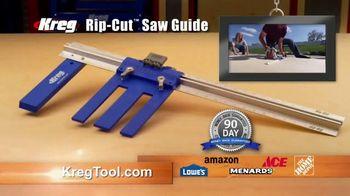 Kreg Rip-Cut Saw Guide TV Spot, 'Build Quality Projects' - Thumbnail 10
