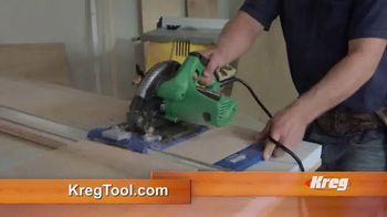 Kreg Rip-Cut Saw Guide TV Spot, 'Build Quality Projects' - Thumbnail 8