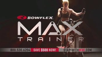 Bowflex Max Trainer TV Spot, 'The Fastest Workout' - Thumbnail 2