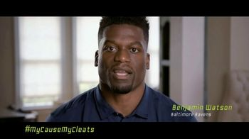 NFL TV Spot, 'My Cause My Cleats: Justice' Featuring Benjamin Watson - 5 commercial airings
