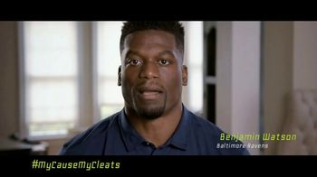 NFL TV Spot, 'My Cause My Cleats: Justice' Featuring Benjamin Watson - Thumbnail 1