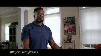 NFL TV Spot, 'My Cause My Cleats: Justice' Featuring Benjamin Watson - Thumbnail 7