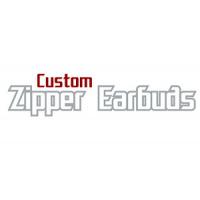 Custom Zipper Ear Buds
